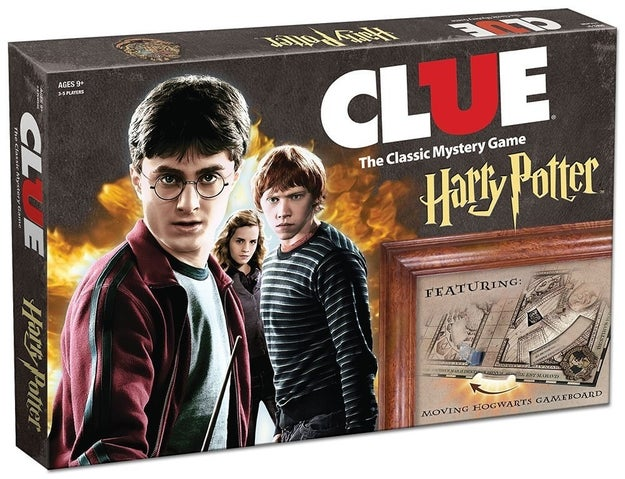 A Harry Potter-inspired Clue game with one objective: find the student who mysteriously disappeared from Hogwarts.
