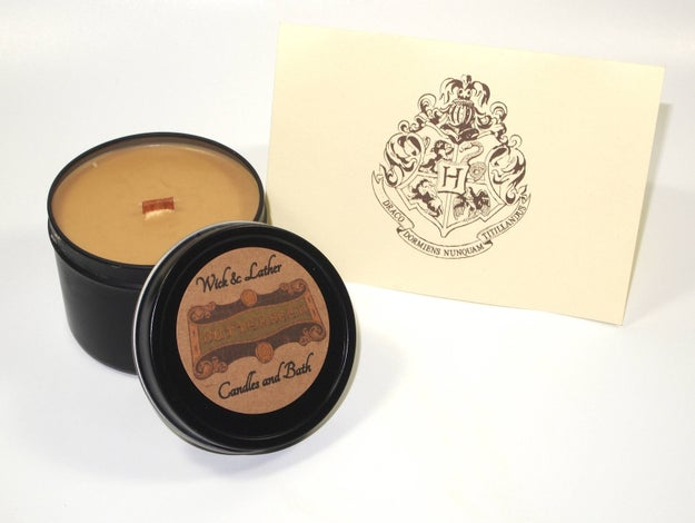 A butterbeer candle to make your room smell like The Three Broomsticks. Hogsmeade outings are the best, aren't they?