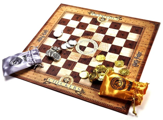 A checkers set favored by the goblins working at Gringotts. They hide this in vault 713 so that no one can steal it.