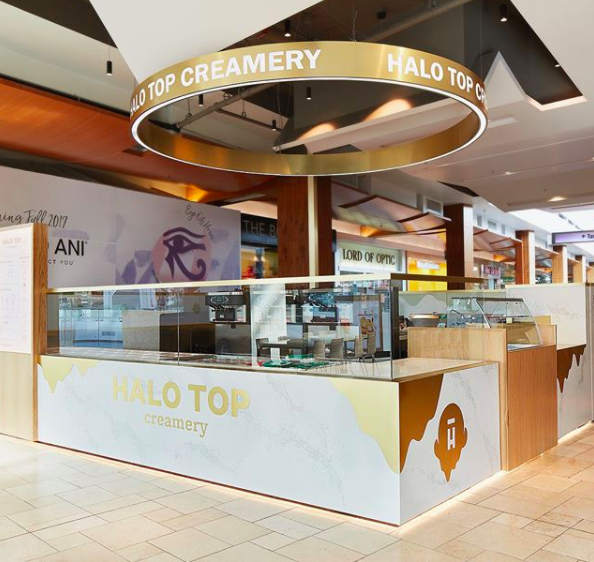 If you haven't heard, the beloved low-calorie ice cream, Halo Top, has opened a full shop at Westfield Topanga in Los Angeles!