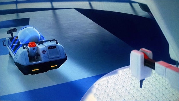 In Wall-E, the keyboard that the robot is using is made of only ones and zeroes.
