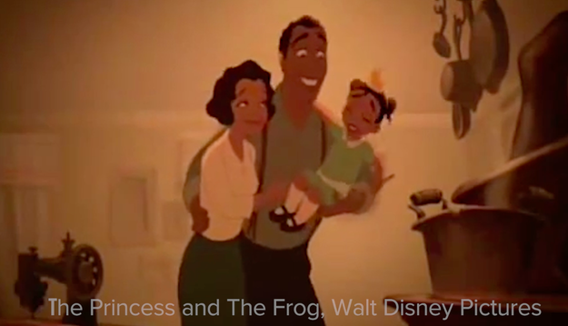1. Let's kick off this awkward game with James, Tiana's dad, in The Princess and the Frog.