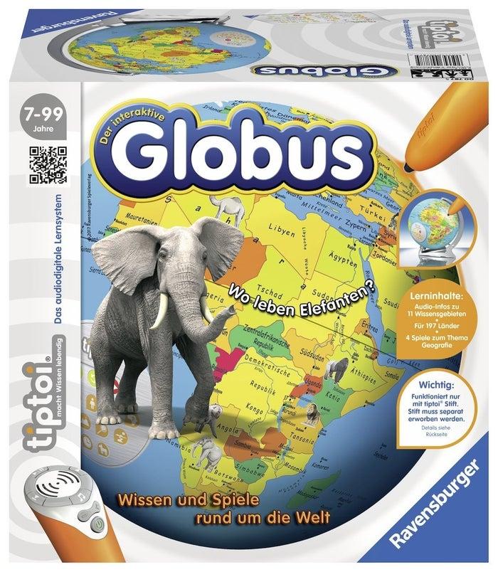"""Beste Rezension: """"Mein 8-jähriger Sohn hat viel Freude mit seinem Globus und lernt so ganz spielerisch Geographie ; )"""" –"""