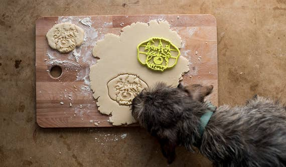 "Promising Review: ""I love my cookie cutter; it looks just like my dog and arrived sooner than I thought! I did, however, get some strange looks from my family at Christmas..."" —maryg4251Get it from Copypastry on Etsy for $49."