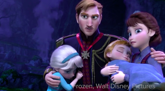 2. Then there's Elsa's dad in Frozen.