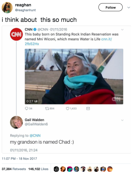 This extra-AF grandma, who made a situation all about her: