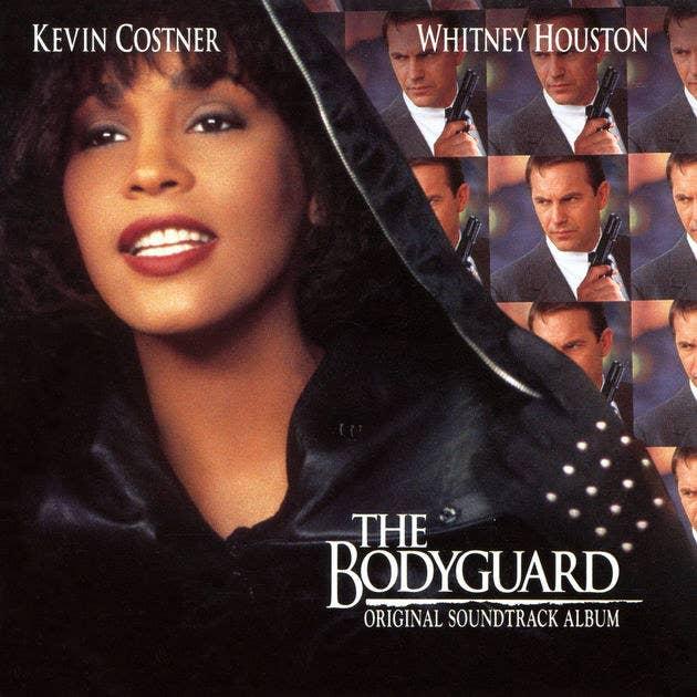 The Bodyguard soundtrack album cover.