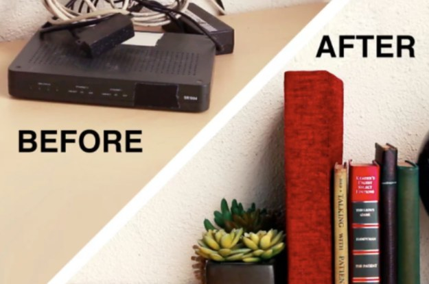 19 Easy Ways To Hide All The Ugly Stuff In Your Apartment