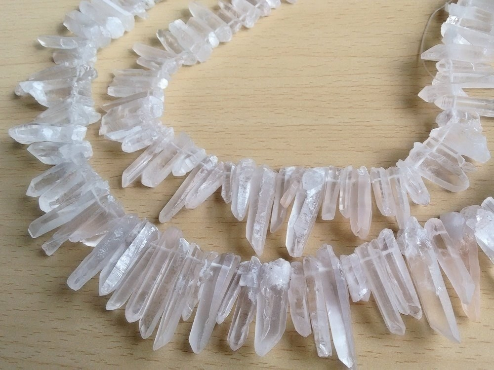 Free People Quartz Point Healing Necklace-$28 MSRP