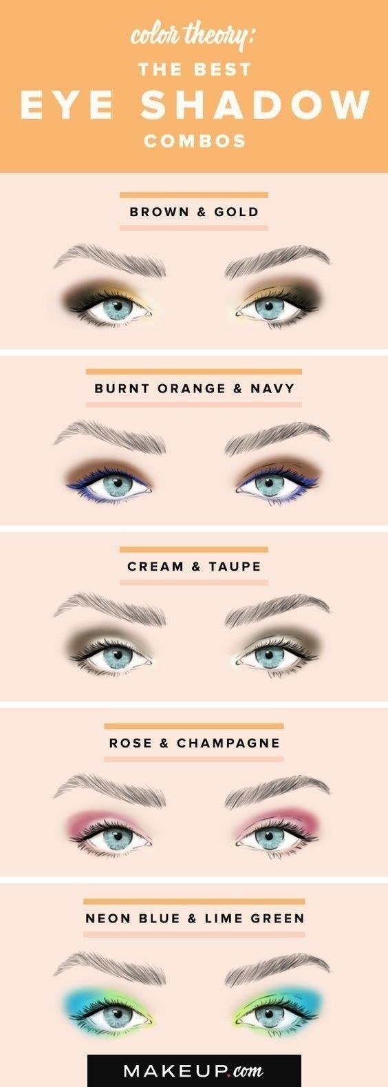 Try out some cool new eye shadow color combos. YOLO!
