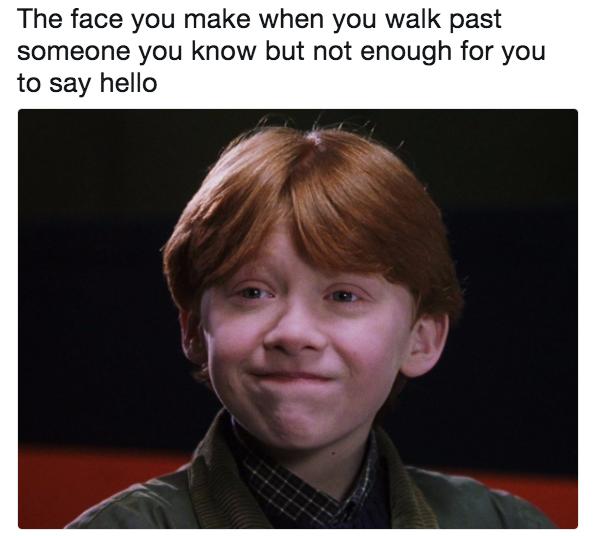 That smile: