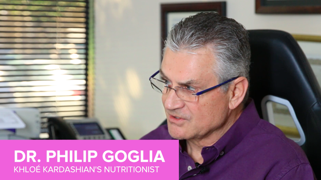 """First, Selorm went straight to the source. This is Dr. Philip Goglia, Khloé Kardashian's nutritionist himself, who said working with Khloé was amazing because she's """"warrioresque."""""""