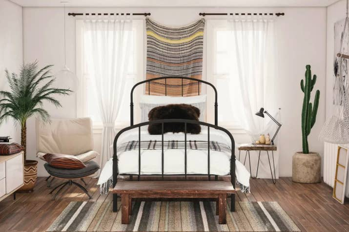 A Vintage Metal Frame Thatll Complement Any Room