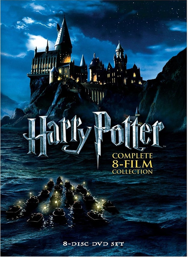 The complete 8-film collection on DVD so you could see the splendor that is Hogwarts whenever you damn well please.
