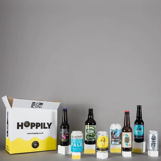 An all-vegan box of beer because there are more vegan beers than you'd think.