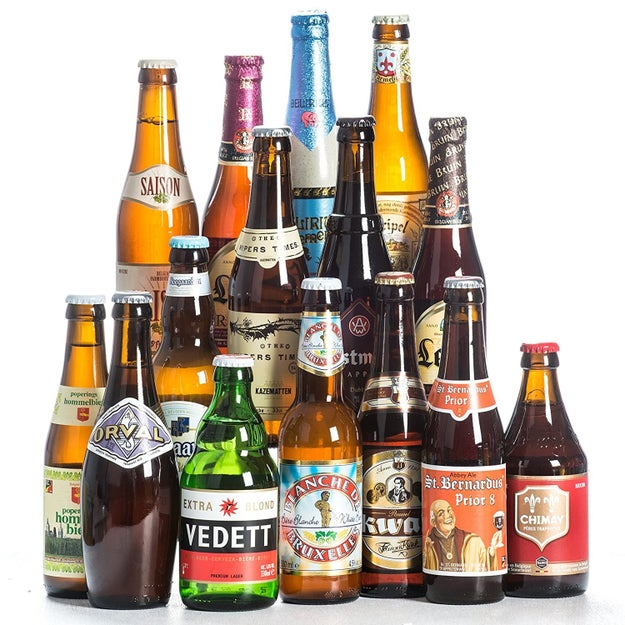 A case of 15 Belgian beers that is basically a Selection Box for adults.