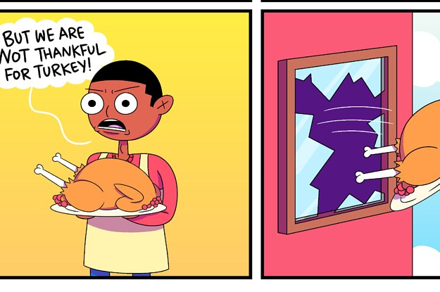 9 Thanksgiving Comics To Get You In The Eating Spirit