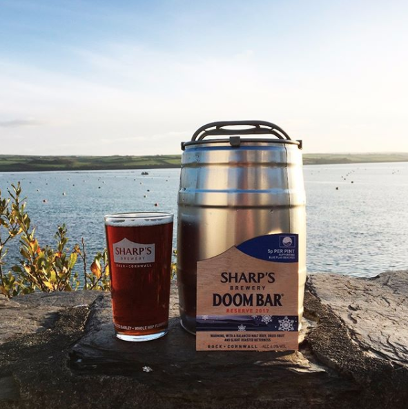A mini keg of Cornish ale so that everyone can join in the fun.