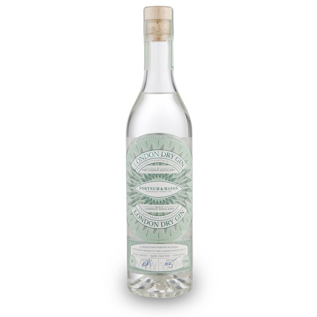A bottle of personalised gin so that nobody will use it without your permission.