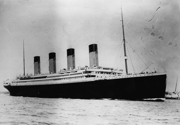 WELL, on April 15th, 1912, the Titanic sank... at 2:20 a.m.!!!!!