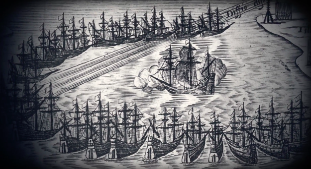 White's timing was poor, as England was on the verge of going to war with Spain who had a strong fleet of ships. Because of this, White wasn't able to return to Roanoke for three years.