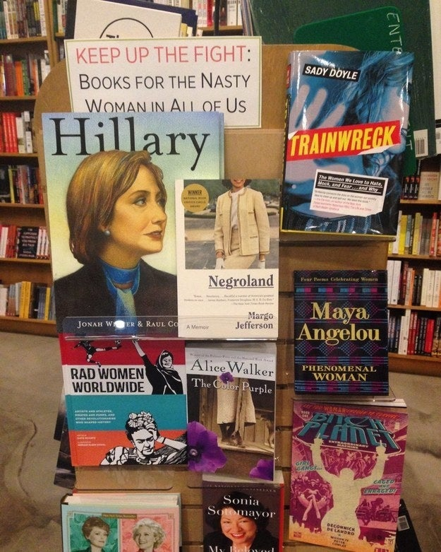 """WORD Bookstore in Jersey City doesn't shy away from the political climate — they embrace it and help us get through it."" —amandar4be2efc7aVisit WORD Books in Jersey City or Brooklyn on Saturday Nov. 25 for raffles, giveaway, readings, trivia, and more."