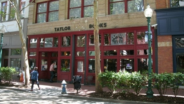 """Taylor Books in Charleston, WV, is a beloved city treasure. It has a local art gallery in one section, a bookstore in the middle section, and a cafe in the third section that hosts local musical acts. The lady that owns it is from England and lives above the bookstore. On the roof she has pet chickens and she sells the fresh eggs in the cafe."" —annalee10Visit Taylor Books on Sat. 11/25 for a ~surprise~ treat, which will be announced on their Facebook on Friday."