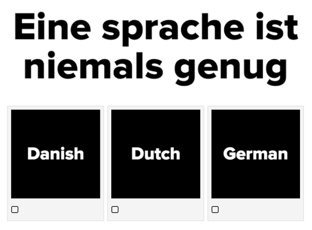 "Want to challenge yourself? Take this super tricky ""guess the language"" quiz."