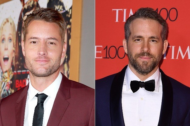 """This Is Us"" Star Justin Hartley Pretended To Be Ryan Reynolds For A Confused Fan"