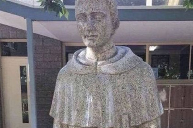 This School Had To Get Rid Of A Statue Of A Saint Because...Just Take A Look