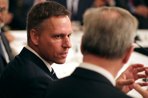 buzzfeed.com - Peter Thiel May Be Looking To Buy Gawker.com