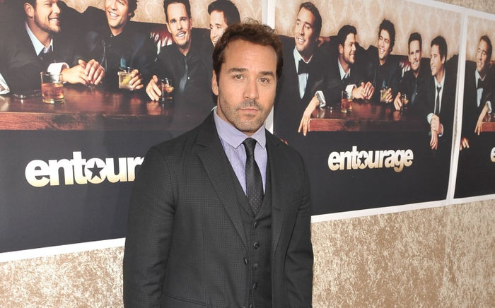 Jeremy Piven at the Season 6 premiere of Entourage in Los Angeles in 2009.