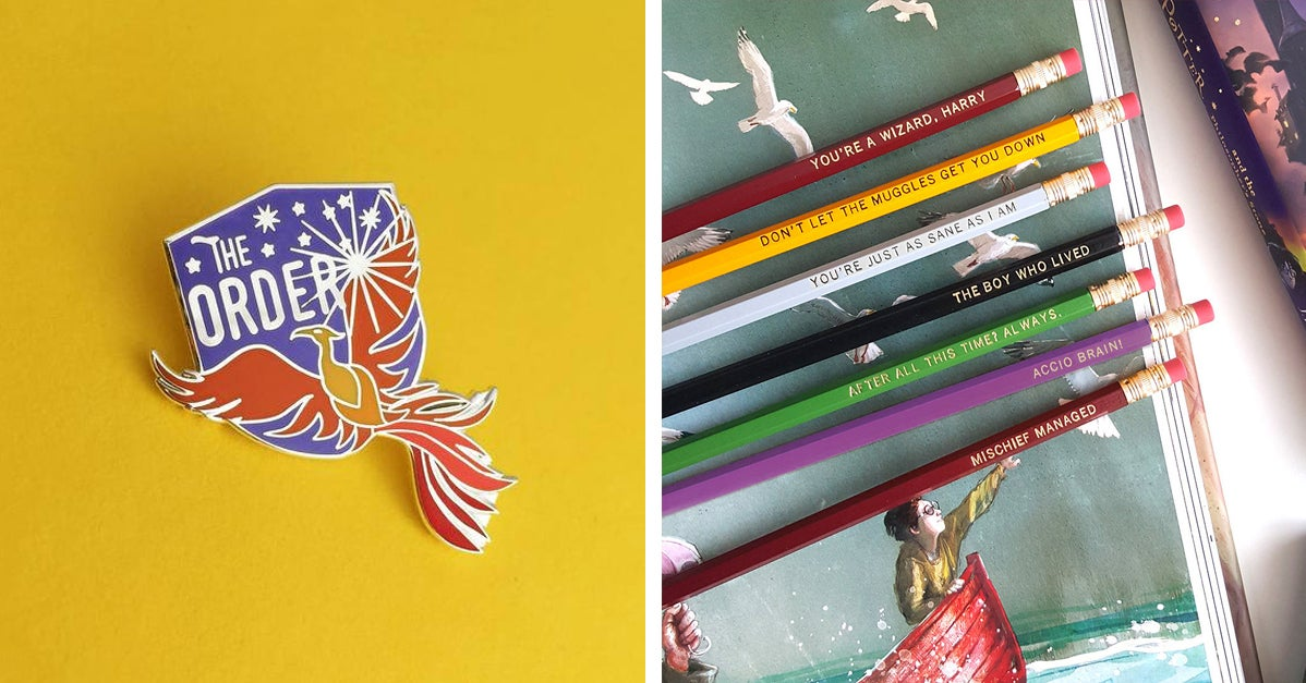 18 Perfectly Magical Little Gifts For The Gryffindor In Your Life