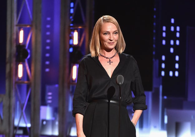 Actor Uma Thurman left people reeling last month with her powerful response to a question about sexual abuse and harassment in Hollywood.