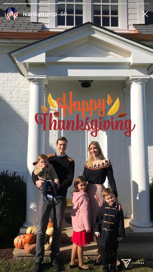 And in case you were wondering if Trump has seen the messages yet, she hasn't addressed them directly but she posted a family portrait to Instagram stories after Amoruso's first message, and didn't mention Dreamers.