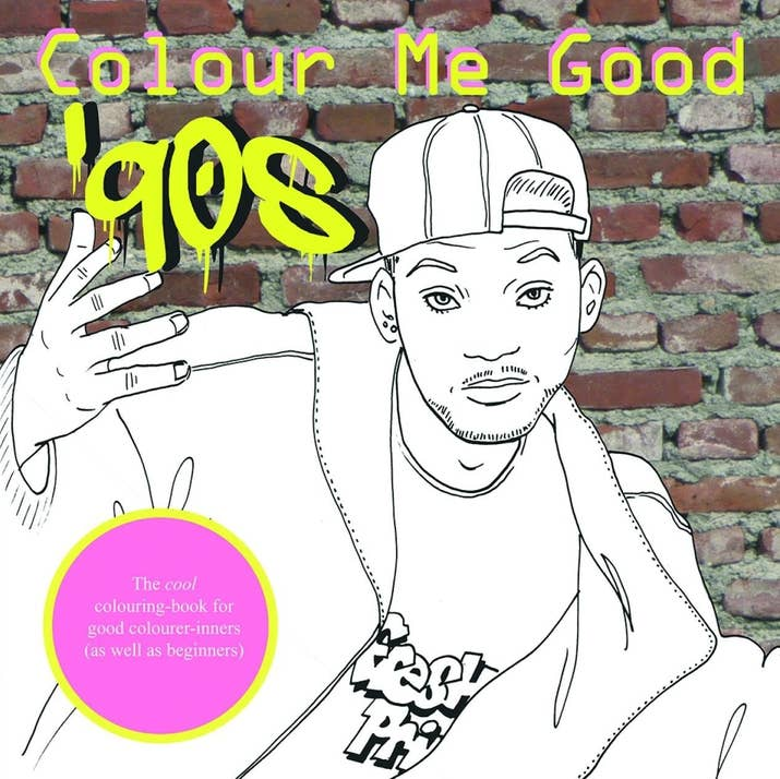This Colour Me Good 90s Colouring Book That Will Let You Reimagine The Decade In What Ever Colours Choose