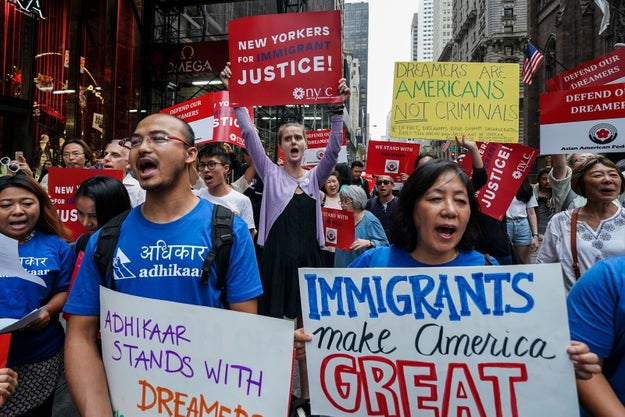 The president announced in early September that DACA, an Obama-era policy that offers legal protections to undocumented people who arrived in the US as children, would be rescinded.