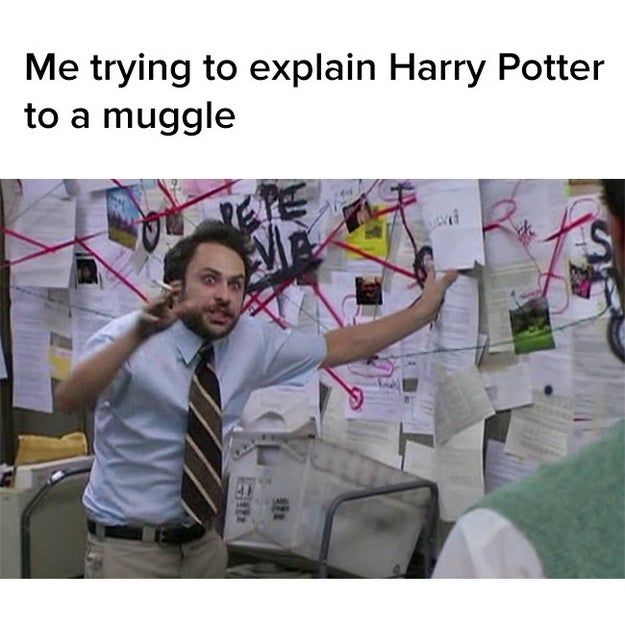 Getting way too excited while trying to describe your favourite book to a friend.