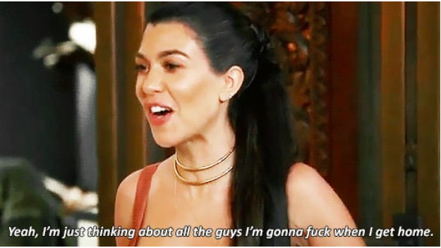 When Kris asked if Kourtney was OK after Scott flew a random woman out to their family vacation and she gave this response.