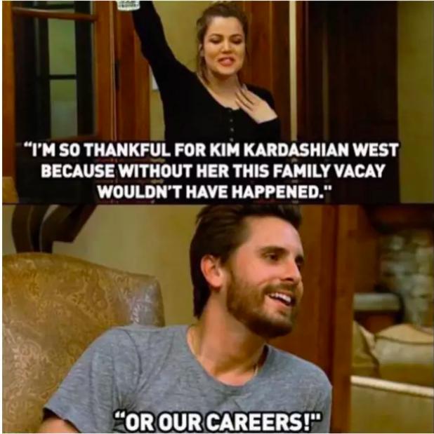 When Scott spoke this truth.