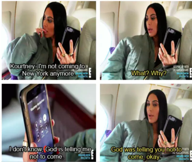 When Kourtney was literally all of us cancelling plans.