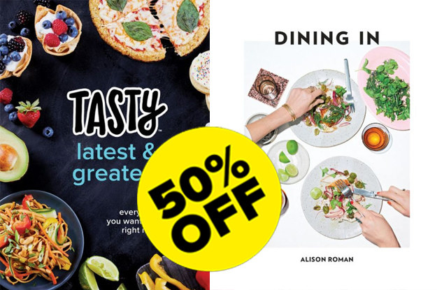 But if what you're looking for is a practical and beautiful gift, a ton of cookbooks are 50% off at Barnes & Noble today!