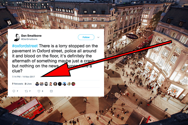 The Mail Online Oxford Circus Coverage Was Based On A Tweet From Two Weeks Ago
