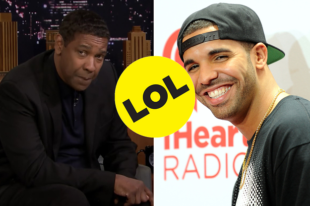 Jimmy Fallon And Denzel Washington Are Curious About Where Drake Has His Denzel Tattoo