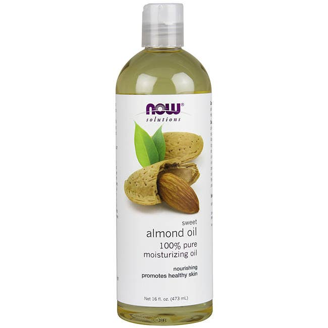 """Promising review: """"Almond oil is very good for people with dry skin — like me! This amount of oil at such a low price is a dream come true! My skin sucks up the oil without feeling greasy."""" —Laura A.M. WoppGet it from Amazon for $3.22+ (available in three sizes)."""
