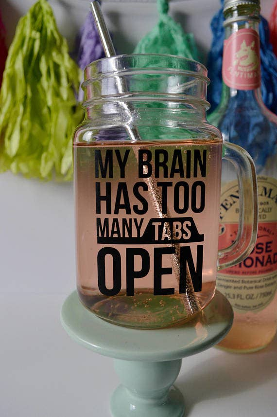 18 A Wordy Mason Jar As Reminder To Save Those Bookmarks