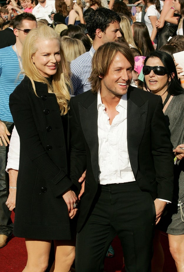 And Nicole Kidman made an appearance in support of husband Keith Urban.