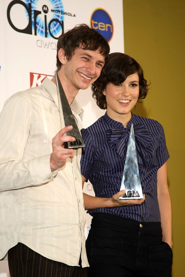 Missy Higgins picked up the award for Best Female Artist, while Gotye took home the male equivalent.
