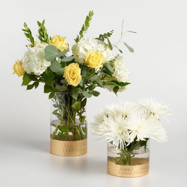 Get it from Cost Plus World Market for $14.99+. Available in two sizes. You can also find flowers to fill them with here...if you want to.