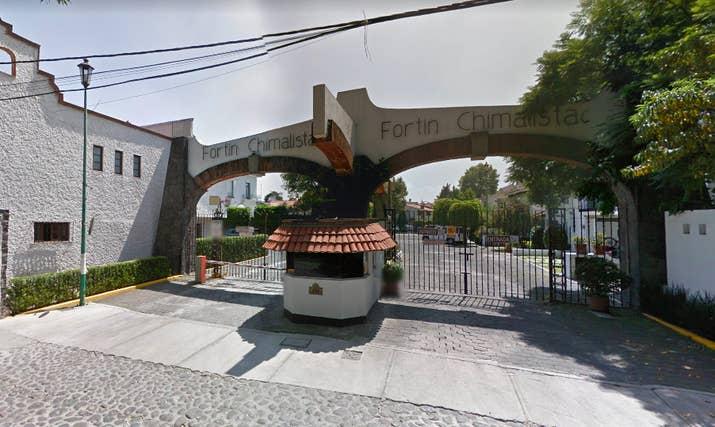 Fortín Chimalistac, donde Meade vive.